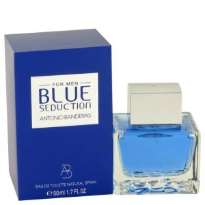 Antonio Banderas Blue Seduction Eau De Toilette Spray 1.7 oz...