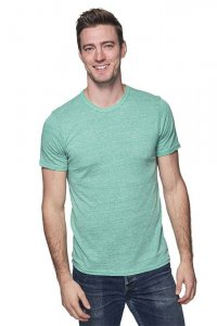 Royal Apparel Unisex Eco Triblend Short Sleeved T Shirt Eco Tri Kelly 32051