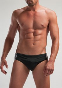 Geronimo Bikini Swimwear Black 1225S2