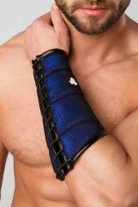 Maskulo Armored Color Under Forearm Guard Wallet Armband Roy...