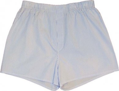 Charlie Dog The Ben Stripes Loose Boxer Shorts Underwear White 184-952
