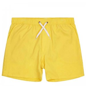 Mosmann Del Sol Tailored Shorts Swimwear Yellow MSW0036