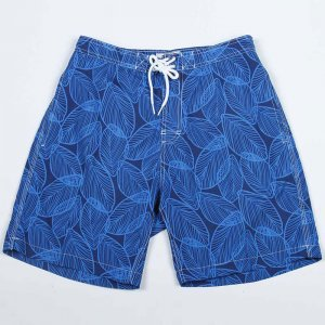 Trunks Surf & Swim Leaves Print Hybrid Swami Boardshorts Bea...