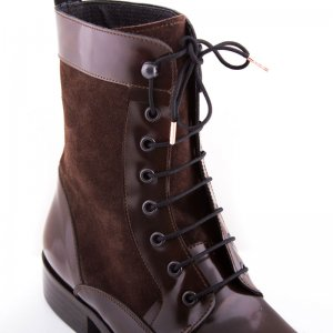 Bondi Laces Boot Laces Midnight Black / Rose Gold Tips BOOTB...