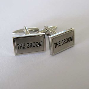 Distino Of Melbourne Novelty Groom II Cufflinks CGROOMII