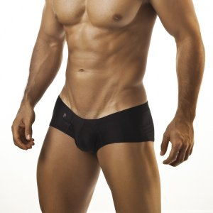 Joe Snyder Cheek Boxer Brief 13 Black Underwear & Swimwear