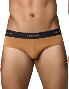 Clever Conservative Latin Brief Underwear Brown 5350