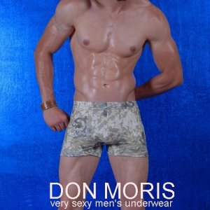 Don Moris Camouflage Boxer Brief Underwear DM080850