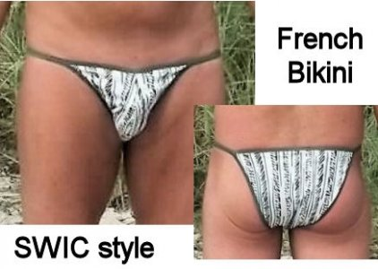SWIC French String Bikini Underwear FB