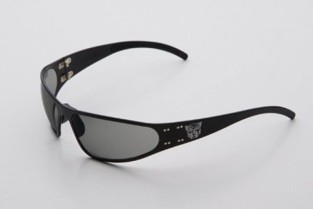Transformers Autobot And Decepticon Polished Sunglasses Black 900388