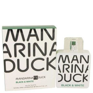 Mandarina Duck Black & White Eau De Toilette Spray 3.4 oz / ...
