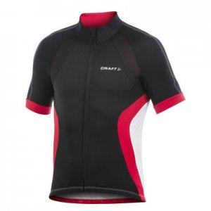 Craft Performance Bike Short Sleeved T Shirt Black/Bright Red 1901937