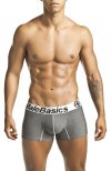 MaleBasics Comfort Trunk Boxer Brief Underwear Charcoal MB001