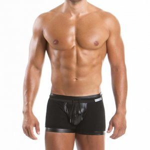 Modus Vivendi Military Boxer Brief Underwear Black 08521