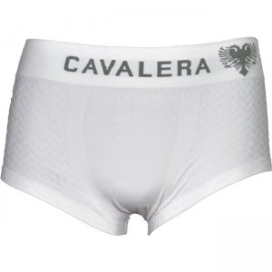 Cavalera Seamless Microfiber Trunk Boxer Brief Underwear White 445-01