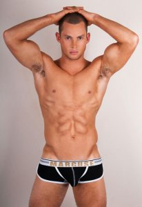 Marcuse Bounce Boxer Brief Underwear Black