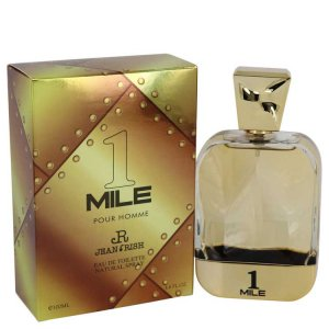 Jean Rish 1 Mile Pour Homme Eau De Toilette Spray 3.4 oz / 100.55 mL Men's Fragrance 540856