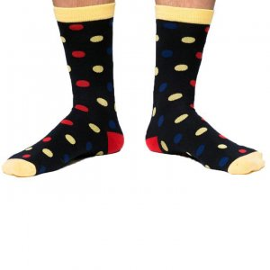 Curious Beaver Polka Dots B Socks SOC006C9