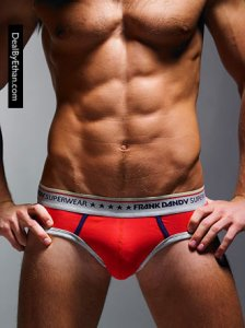 Frank Dandy Five Star Brief Underwear Red 10249-500