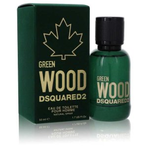 Dsquared2 Green Wood Eau De Toilette Spray 1.7 oz / 50.27 mL...