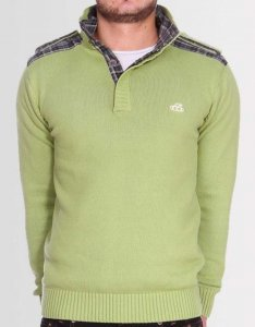 Kear&Ku Knitted Long Sleeved Sweater Pistachio
