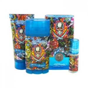 Ed Hardy Hearts & Daggers Eau De Toilette Spray + Shower Gel...