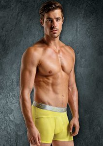 Magic Silk Panel Shorts Underwear Yellow 6886