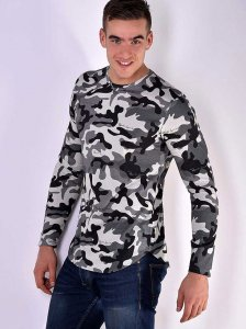 Roberto Lucca Army Long Sleeved T Shirt 80213-11120