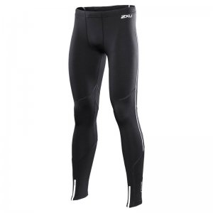 2XU Thermal Running Tights Pants Black MR2480B