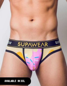 Supawear Sprint Brief Underwear Strawberry Caramel U22SPSM