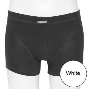 Minerva Sporties Basic Boxer Brief Underwear White 20260
