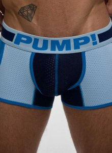 Pump! True Blue Jogger Boxer Brief Underwear Navy/Baby Blue 11054