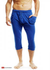 Go Softwear Pull On Yogi 3/4 Pants Cadet Blue 4758