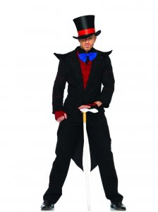 Leg Avenue Evil Mad Hatter Costume 83681