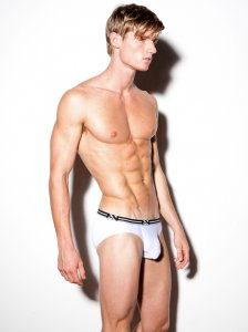 N2N Bodywear Air Brief Underwear White UN83