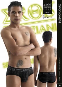 Eros Veneziani Stripe Brief Underwear 7078