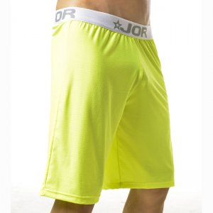 Jor NEON Loungewear Knee Length Shorts Underwear Green