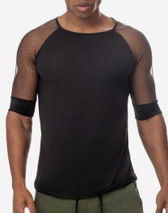 Adonis by Kyhry Desire Short Sleeved T Shirt Black