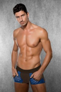 Doreanse Pocket Boxer Brief Underwear Brown 1762