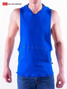 Go Softwear D T L A Air Hoody Sleeveless Sweater Midnight Blue 4605