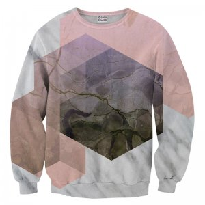 Mr. Gugu & Miss Go Marble River Unisex Sweater S-PC731