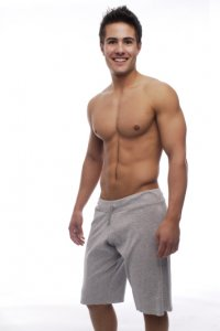 Go Softwear Overdyed Cut Off Shorts Heather Grey 4656