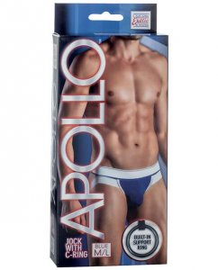 Apollo C Ring Jock Strap Underwear Blue SE4200