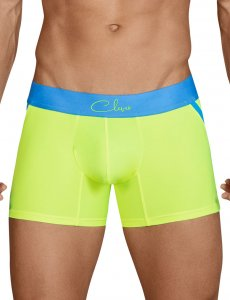 Clever Fedelity Side Arcs Boxer Brief Underwear Green 2436