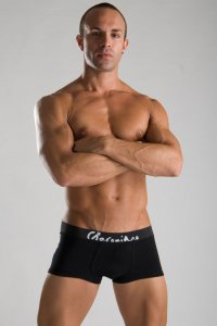Geronimo Boxer Brief Underwear Black 1051B1