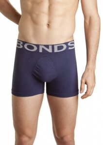 Bonds Side Seamfree Trunk Underwear Ink MZS3X