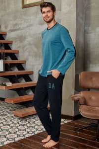 Doreanse Cubic Elbow Patch Long Sleeved T Shirt & Pants Set ...