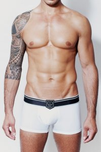 2EROS Black Label Boxer Brief Underwear White U30-10