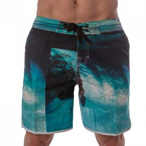 Lord Tropical Boardshorts Beachwear Teal MA003