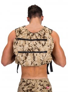 Barcode Berlin Devil Soul Backpack Bag Beige/Camouflage 9134...